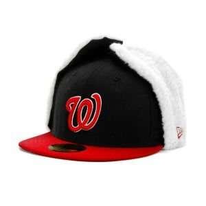 Washington Nationals New Era MLB 59FIFTY Dogear Cap Hat
