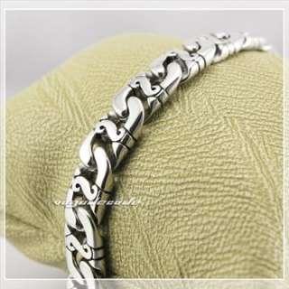 316L Stainless Steel Cool Mens Bracelet Chain 5D010