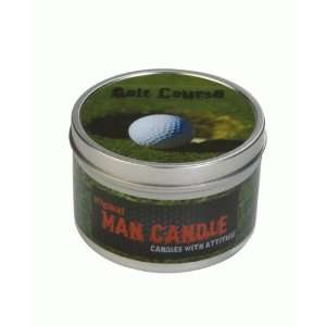 Original Man Candle Golf Course Home & Kichen