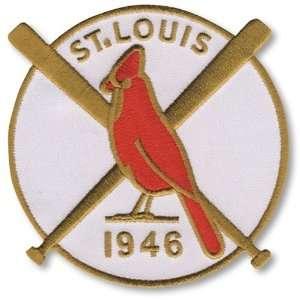 com 2 Patch Pack   1946 St. Louis Cardinals World Series MLB Baseball