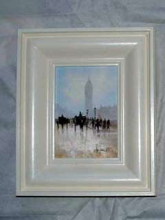 Original Oil on Canvas~Ken HAMMOND~London~BIG BEN~1800