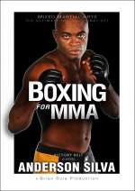New Anderson Silva DVD Boxing for MMA ufc jiu jitsu