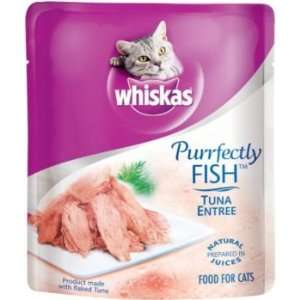 Whiskas Purrfectly Fish Cat Food 72oz Salmon