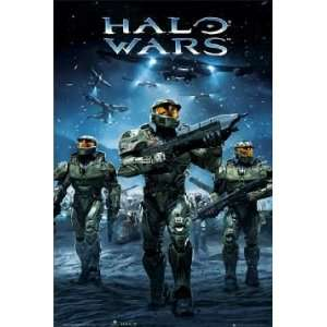 Gaming Posters Halo Wars   Army Poster   35.7x23.8 inches