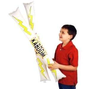 Kaboom Sticks Inflatable Thunder Making PartyToy  Toys & Games