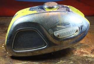 1963 65 YAMAHA YG1 TWO STROKE GAS/PETROL/TANK CAFE RACER/BLACK BOMBER