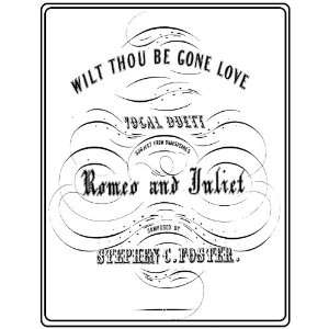 Wilt Thou Be Gone, Love?   Song   Piano/Vocal Duet