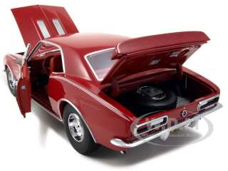 model of 1967 chevrolet camaro ss hot rod magazine bolero red with