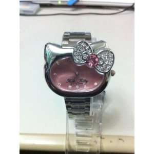 Miss Peggy Jos   Hello Kittys Classy Lady in Stainless Steel~Quartz