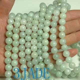 38 A Grade Natural Jade / Jadeite Prayer Beads Mala