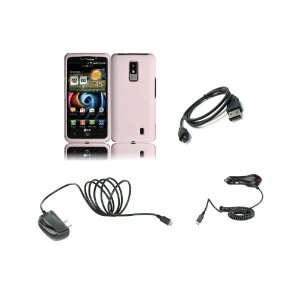 LG Spectrum (Verizon) Premium Combo Pack   White Hard