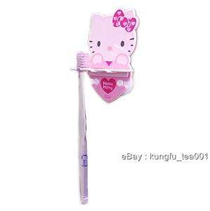 Hello Kitty & Heart Toothbrush Holder Bathroom Suction