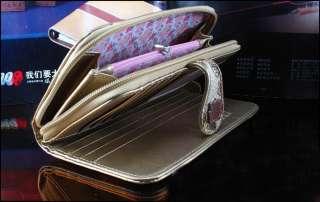 women long luxury purse wallet quality Clutch mobile phone bags