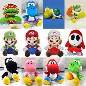 New Super Mario Bros Plush Figure Toy