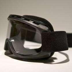 Uvex World Cup Matte Black Ski Goggles Fits Over Glasses Clear Anti