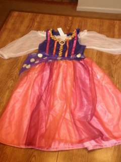 Disney STORE ESMERALDA Gypsy Fancy Dress Costume GIRLS LARGE NEW