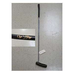 Chris DiMarco Autographed/Signed Golf Putter