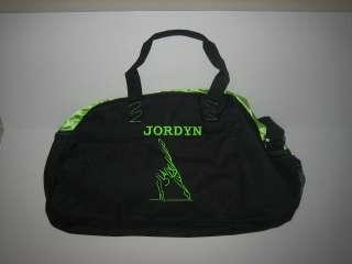 Embroidered Gymnastics Medium Duffel Bag Winter Summer Sports Travel