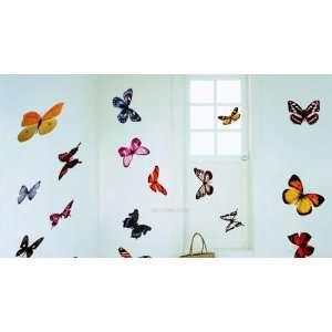 Butterfly Wall Decoration Decal Sticker Decor Nursery Kids
