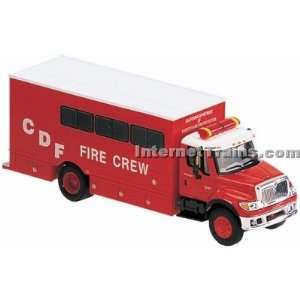 Boley HO Scale International 7000 2 Axle Fire Crew Truck