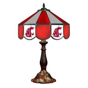 14 NCAA Stained Glass Table Lamp   140TL WASHST