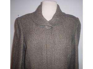 Sonia Rykiel black tweed wool cashmere skirt suit 42/10