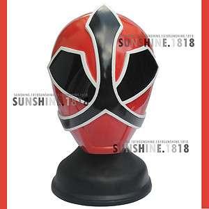 SAMURAI RED POWER RANGERS SHINKENGER HELMET MASK 1/1