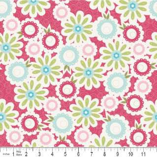 Sweet Divinity Sweet Pink Flower for Riley Blake 1 yard