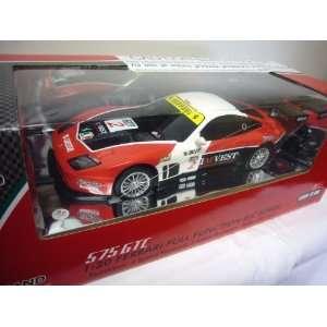 Ferrari 575 GTC R/C Remote Control Car W/All the Batteries