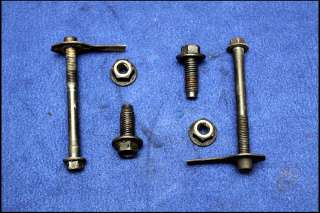 94 95 FORD MUSTANG GRADE 8 TRANSMISSION CROSSMEMBER & MOUNT BOLTS T5