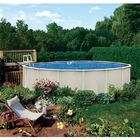 21 x 48 Inch Round Above Ground Metal Frame Swimming Pool Kit
