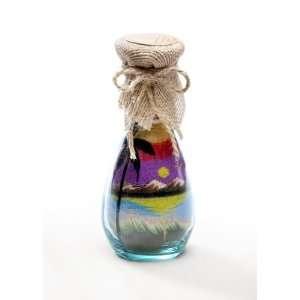 Oasis Sunset Glass Sand bottles   Glass Crafts & Sand Art