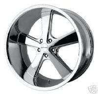 KMC 701 NOVA 22 CHROME WHEELS RIMS FORD MUSTANG MUSCLE