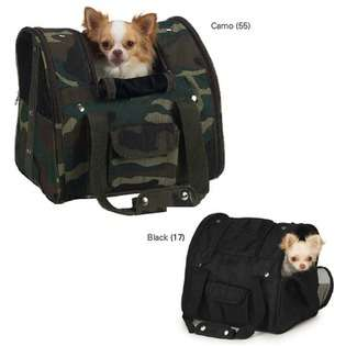 Casual Canine Dog Backpack Carrier   Color Black