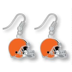 Cleveland Browns Logo Earrings: Sports & Outdoors