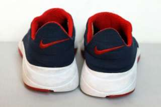 Nike Air Presto Chanjo Running Athletic Shoes Navy Blue Red White No