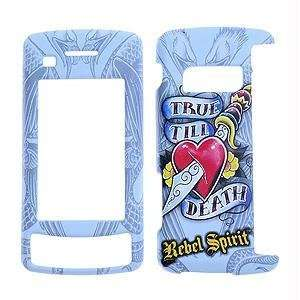 Rebel Spirit   True Till Death with rubberized finish   Tattoo