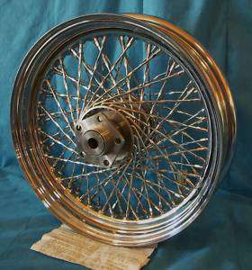 Harley Davidson New Wheel Chrome Laced Rear #BO 80T 16