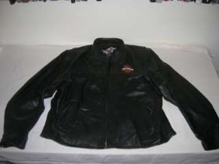 Mens Harley Davidson Leather Jacket RN 103819 / CA 03402