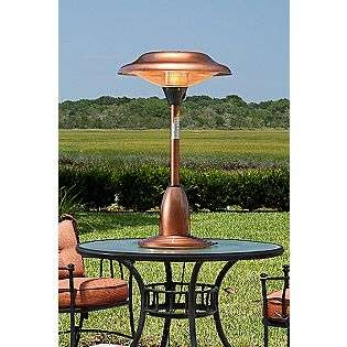 10,000 BTU Copper Finish Table Top Patio Heater  Fire Sense Outdoor