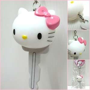 SANRIO Hello Kitty Head PVC Key Holder Key Chain Car Key Ring