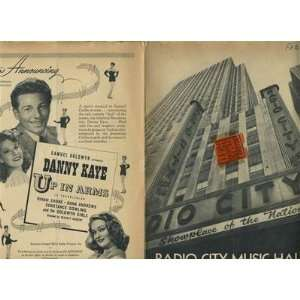 Radio City SHOWPLACE 1944 Rockettes Joan Fontaine Orson Welles Jane