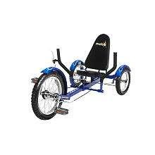 Mobo Triton The Ultimate Three Wheeled Cruiser   Blue   ASA Products