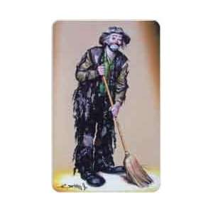 Collectible Phone Card 5m Emmett Kelly Jr. Clown Classic