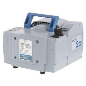 BrandTech 696124 PTFE ME2C Dual Voltage Oil Free Diaphragm Vacuum Pump