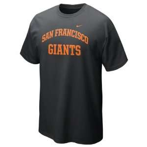 San Francisco Giants Black Nike 2012 Arch T Shirt Sports