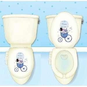 Waterproof Toilet Seat Cover Sticker Decor CS 09