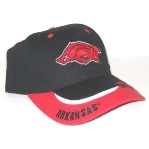 Arkansas Razorbacks NCAA Two Tone Bill Adjustable Hat