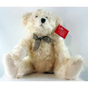 Ainsley White Teddy Bear Toy by Russ Berrie 13 Toys & Games