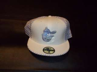 Baltimore Orioles New Era Fitted Cap Hat size 8 Linen